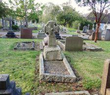 Bertram Venn's Grave in Bristol